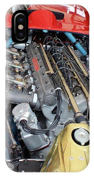 Maserati Engine IPhone Case