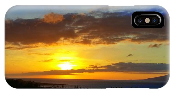 Maui Sunset At The Plantation House IPhone Case