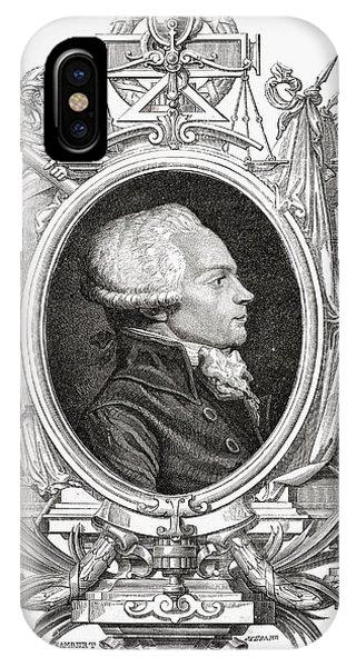 Maximilien Robespierre, 1758-1794 Phone Case by Vintage Design Pics