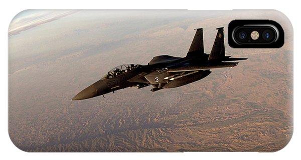 Mcdonnell Douglas F-15 Eagle IPhone Case