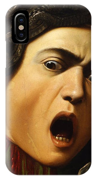 Gorgon iPhone Case - Medusa by Caravaggio