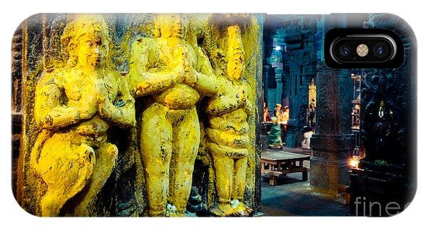 Meenakshi Temple Madurai India IPhone Case