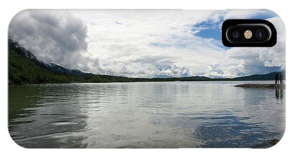 Mendenhall Lake IPhone Case