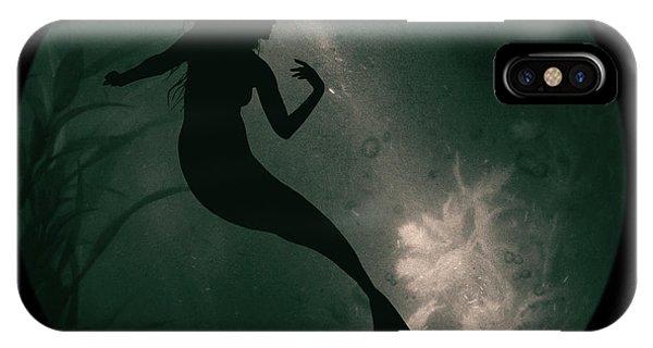 Mermaid Deep Underwater IPhone Case