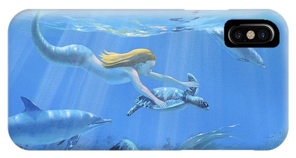 Mermaid Fantasy IPhone Case