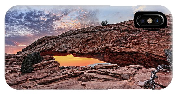 Mesa Arch At Sunrise IPhone Case