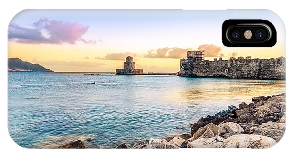 Methoni's Castle / Greece. IPhone Case