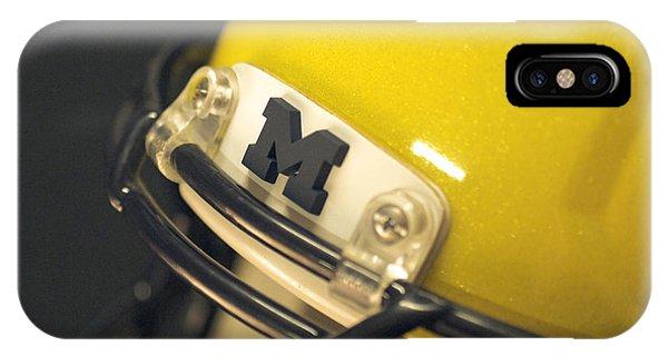 Michigan M IPhone Case