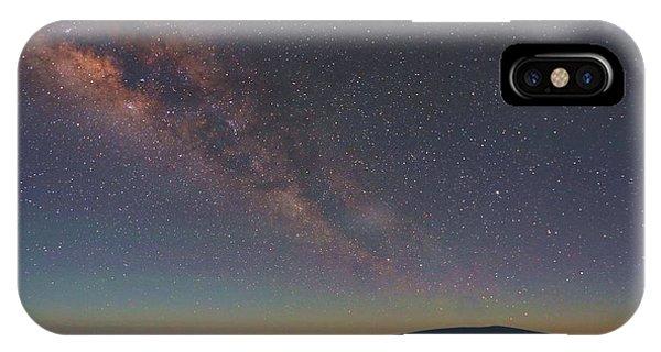 Milky Way Over Mauna Loa IPhone Case