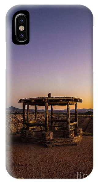 Cathedral Gorge Gazebo IPhone Case