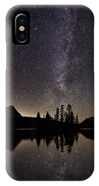 Mirror Lake Milky Way IPhone Case
