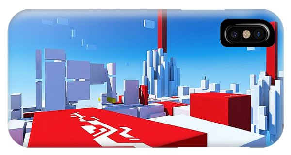 Design iPhone Case - Mirror's Edge by Maye Loeser