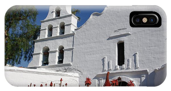 Mission San Diego IPhone Case