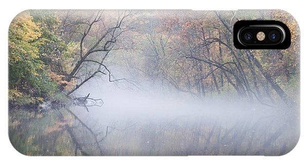 Mist On The Wissahickon IPhone Case