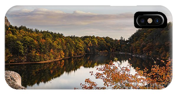 Mohonk Mountain House Lake IPhone Case