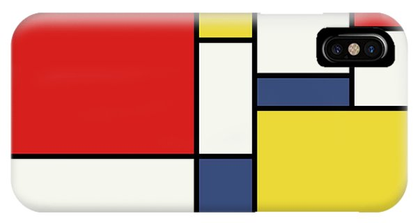 Mondrian Inspired IPhone Case