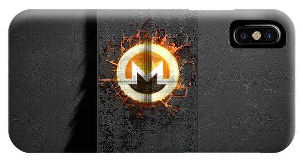 Virtual iPhone Case - Monero Cloner Smartphone by Allan Swart