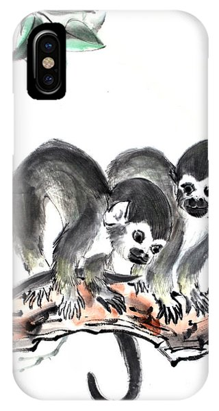 Monkeys IPhone Case