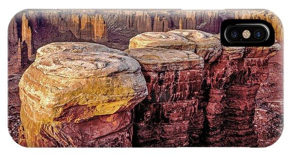 Monument Basin, Canyonlands IPhone Case