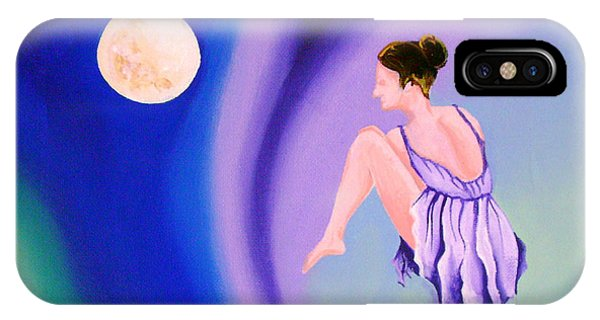 iPhone Case - Moon Dance by Arides Pichardo