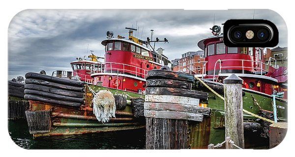Moran Towing Tugboats IPhone Case