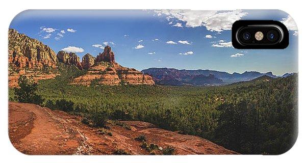 Mormon Canyon Panorama IPhone Case