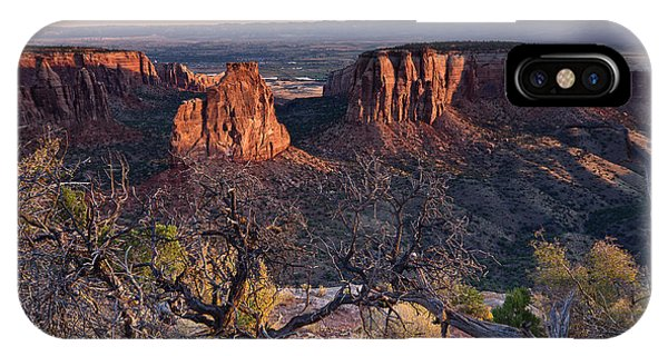 Morning At Colorado National Monument IPhone Case
