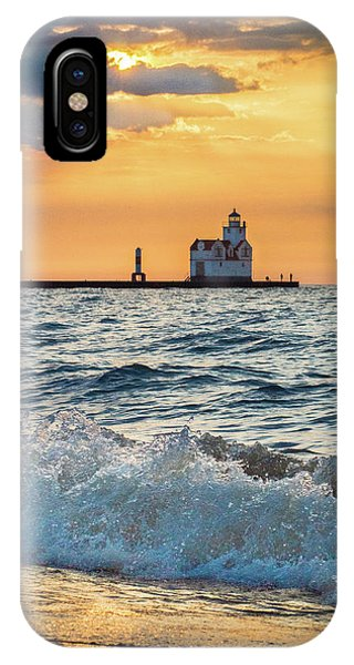 Morning Dance On The Beach IPhone Case