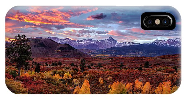 Rocky Mountain iPhone Case - Morning Drama In The Colorado Rockies by Andrew Soundarajan