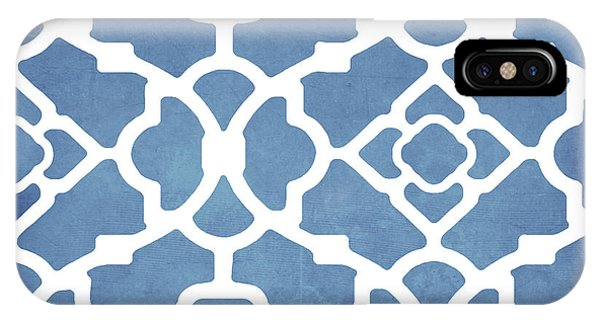 Lake iPhone Case - Moroccan Blues by Mindy Sommers