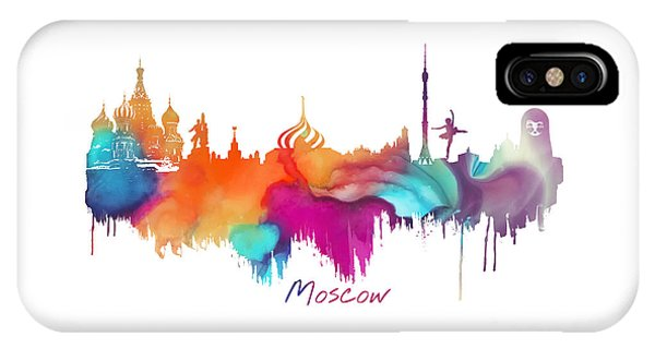 Moscow  IPhone Case