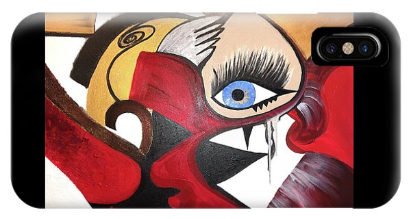 Motley Eye 2 IPhone Case