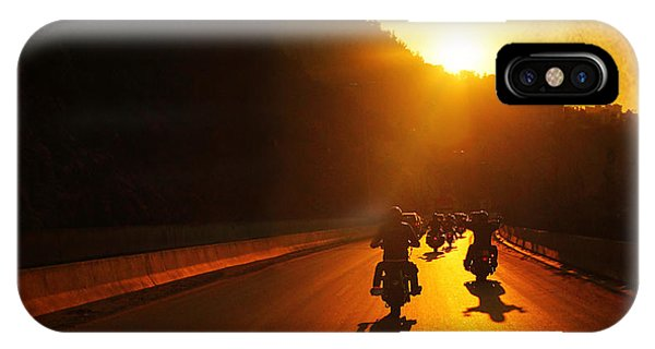 Motorcycle Ride IPhone Case