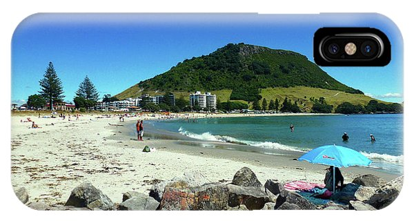 Mount Maunganui Beach 1 - Tauranga New Zealand IPhone Case