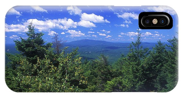 Mount Monadnock From Pack Monadnock IPhone Case