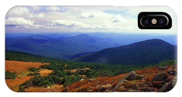New Hampshire iPhone Case - Mount Moosilauke Summit  by John Burk