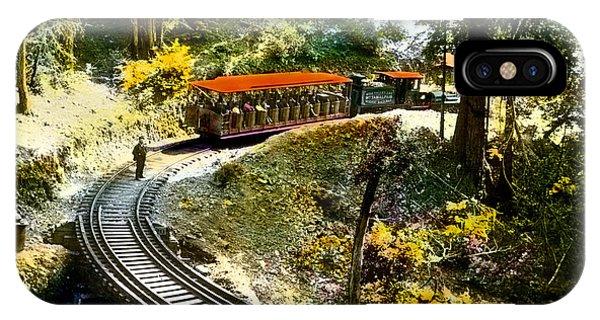 Mount Tamalpais Railway In The 1890s California IPhone Case