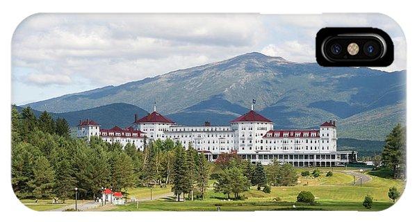 Mount Washington Hotel IPhone Case