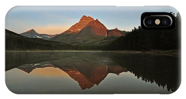 Mount Wilbur, Glacier National Park IPhone Case