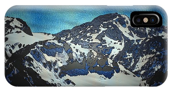 IPhone Case featuring the painting Mountain by Mark Taylor