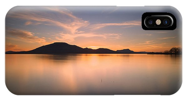 Ok iPhone Case - Mountain Sunset II by Ricky Barnard