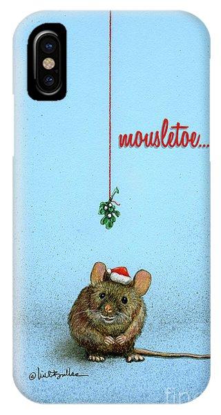 Mousletoe... IPhone Case