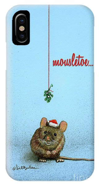 Mousletoe... IPhone Case