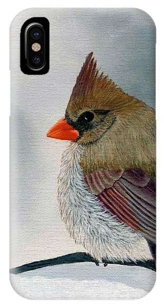 Mrs. Cardinal IPhone Case