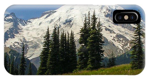 Mt. Rainier Alpine Meadow IPhone Case