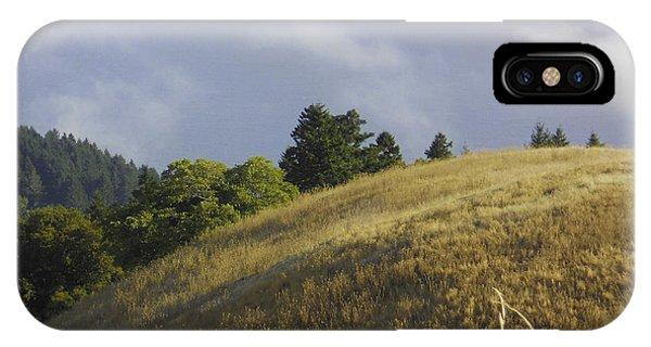 Mt. Tamalpais Study #1 IPhone Case