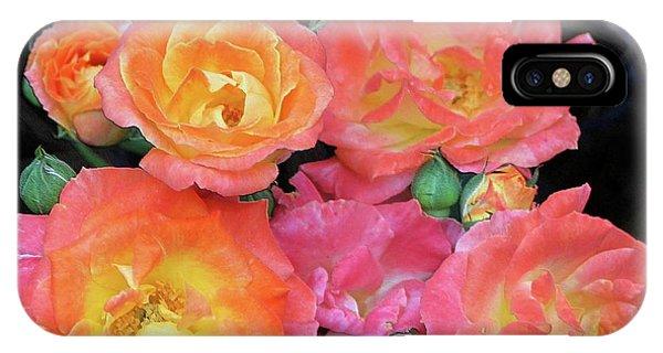 Multi-color Roses IPhone Case