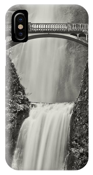 Multnomah Falls Upclose IPhone Case