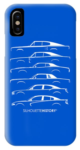 Muscle Charlie Silhouettehistory IPhone Case