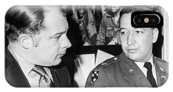 D.c. iPhone Case - My Lai Massacre Inquiry by Underwood Archives